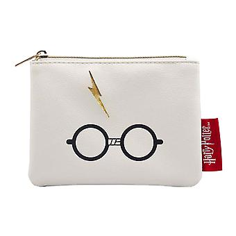 Harry Potter Purse The Boy Who Lived Glasses Logo new Official White