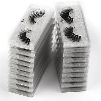 False Eyelashes Natural Mink - Makeup False Lashes In Bulk