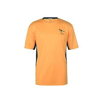 Team Rugby Poly T Shirt Heren