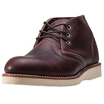 Red Wing 3141 Classic Mens Chukka Boots in Donkerbruin