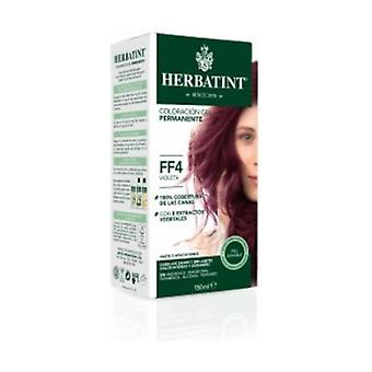 Hair Dye Permanent Coloring Gel FF4 Violet 150 ml