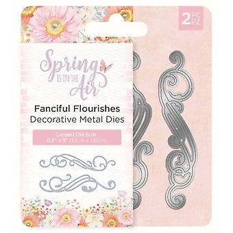 Crafter's Companion Spring in the Air Metal Die Fanciful Flourishes