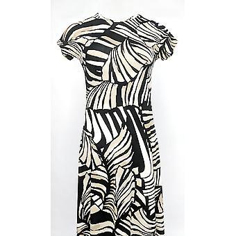 Attitudes by Renee Petite Dress Petite Como Jersey Maxi Beige A347505