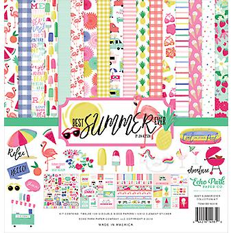 Echo Park Beste Zomer Ooit 12x12 Inch Collection Kit
