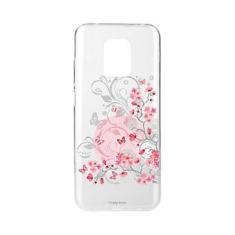 Scafo per Xiaomi Redmi Note 9 Pro Soft Flower And Butterfly