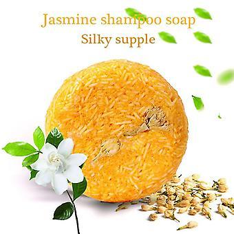 Hecho a mano champú de pelo barra de jabón - Jabón de champú seco natural puro