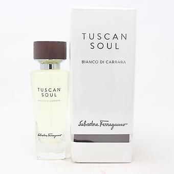 Toscaanse Soul Bianco Di Carrara door Salvatore Ferragamo Eau De Toilette 2.5oz Nieuw