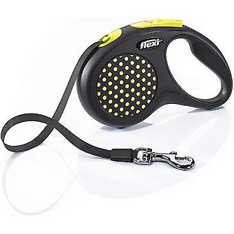 Flexi Design 5m Fita - Pequeno - Amarelo