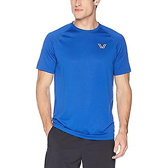 Peak Velocity Men-apos;s Tech-Vent Short Sleeve Odor-resistant Loose-Fit T-shirt, ...