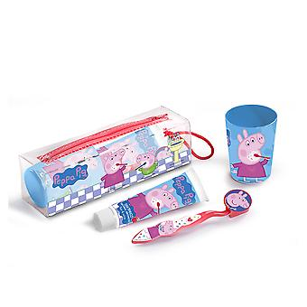 Cartoon Peppa Pig Set 4 Pz Unisex