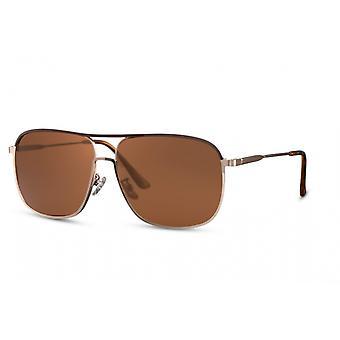 النظارات الشمسية الرجال بانتو راندلوس كات. 3 الذهب / البني