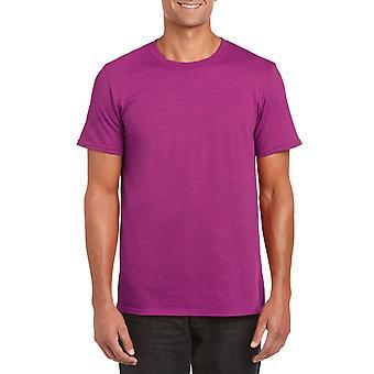 GILDAN G64000 Softstyle Men's T-Shirt en Heliconia antique