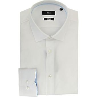 BOSS Jesse Kragen Trim Slim Fit Shirt