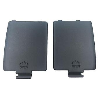 Zedlabz replacement left & right battery cover set for sega game gear - grey