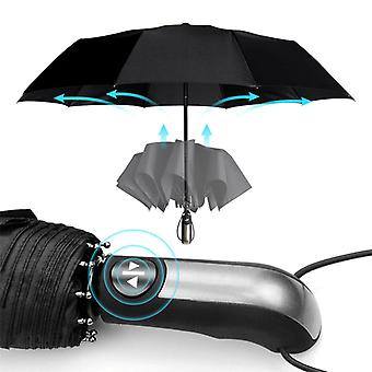 Wind Resistant Fully Automatic Umbrella - Women Men 3folding Compact Large Travel Business Car