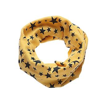 Stars Printed, Warm Cotton Scarf