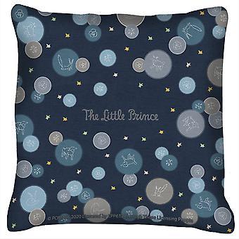 Den lille prins får ræv & stjerne mønster pude