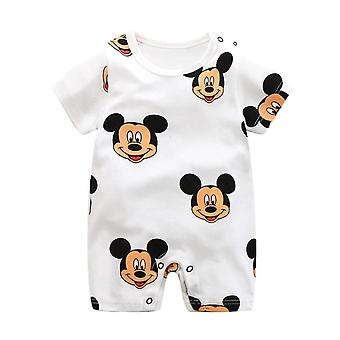 Mickey Strampler, Cartoon Babykleidung, Jumpsuit