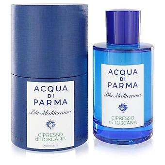 Blu mediterraneo cipresso di toscana eau de toilette spray by acqua di parma 75 ml
