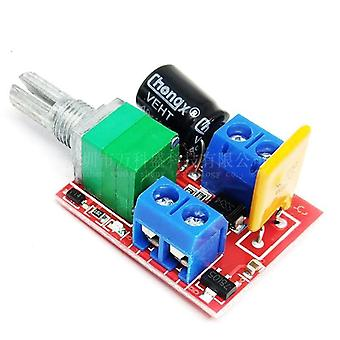 3v-35v / 90w Dc Mini 5a Pwm, Max Motor Speed Controller, Module Switch Led