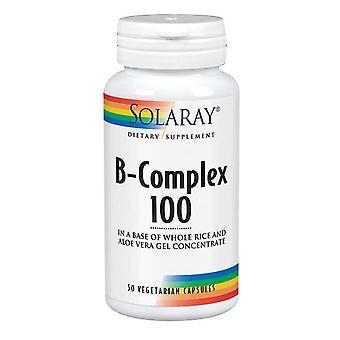 Solaray B-Complex 100, 250 Caps