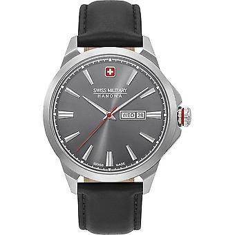 SWISS MILITARY-HANOWA - Wristwatch - Men - DAY DATE CLASSIC - 06-4346.04.009
