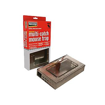 Pest-Stop Systems Multicatch Humane Mouse Trap Metal PRCPSPMMT