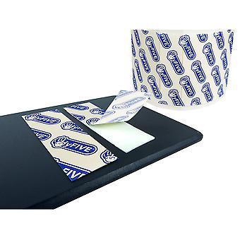 4Pk nombre / plaque d'immatriculation autocollants double face collant pads