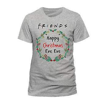 Women's Friends Christmas Eve Eve Fitted T-Shirt