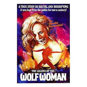 Legend of Wolf Woman Movie Poster (11 x 17)