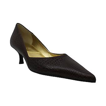 Tahari Womens Nell Leather Pointed Toe Classic Pumps
