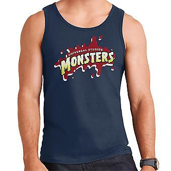 Universal Studios Monsters Blood Logo Men's Vest