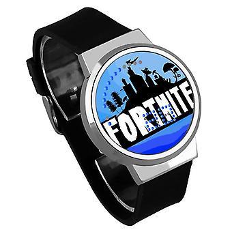 Водонепроницаемые светящиеся светодиодные цифровые сенсорные детские часы - Fortnite #36
