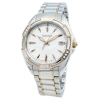 Seiko Conceptual Skk878p Skk878p1 Skk878 Diamant Akzente Quarz Frauen's Uhr