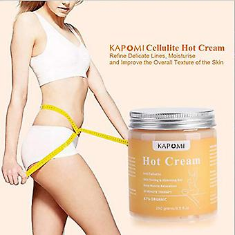 250g Natural Effective Slimming Cellulite Cream Lose Weight Chili Body Hot Cream Fat Burner Weight Loss Creams