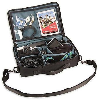 Op/tech usa accessory pack - camera and lens storage case with removable padded dividers, 11-inch