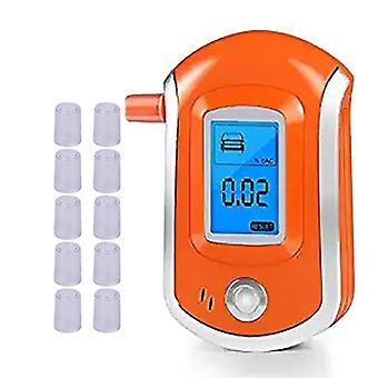 Digital Pust Alkohol Tester Breathalyzer Med Lcd Dispaly