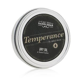 Dry Oil Beard Balm - Temperance (no Added Aroma) - 60g/1.55oz