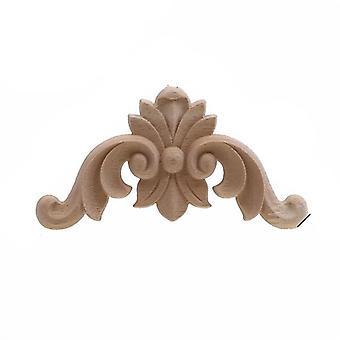 فريدة من نوعها الأزهار الطبيعية الخشب المنحوتة خشبية التماثيل الحرف اليدوية لs وتطبيقها الزاوية