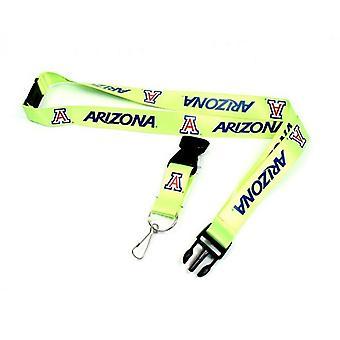 Arizona Wildcats NCAA Neon Lanyard