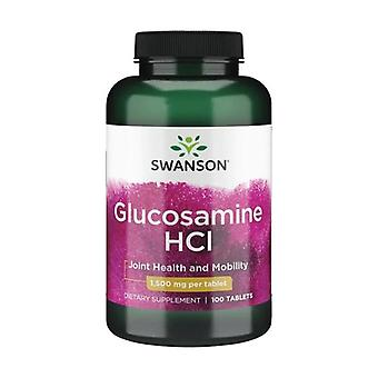 Premium glucosamine hcl 1500 mg 100 tablets of 1500mg