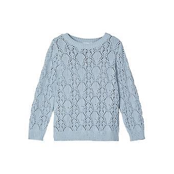 Name-it Meisjes Knit Trui Temolly Dusty Blue