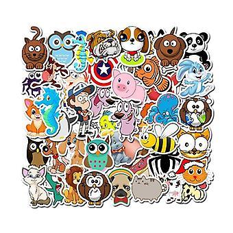 Cartoon Partial/vinyl Laptop Sticker  13/15.6