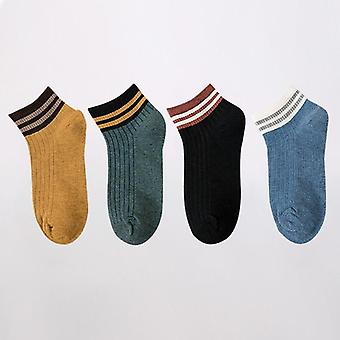 4ペア足首コットンノベルティファッションかわいいハートカジュアル靴下