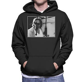 The Big Lebowski The Dude Outside His House Men's Hooded Sweatshirt