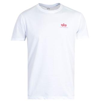 Alpha Industries Back Print T-Shirt - White