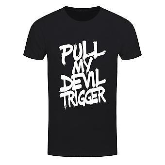 Grindstore Mens Pull My Devil Trigger T-Shirt