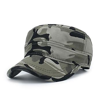 Military Hat, Fashion Solid Color Army/military Cap, Adjustable,outdoor Sports
