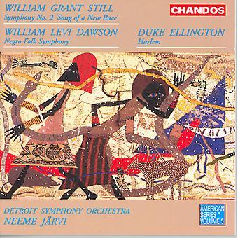 Still/Dawson/Ellington - Still: Symphony No. 2; Dawson: Negro Folk Symphony; Ellington: Harlem [CD] USA import