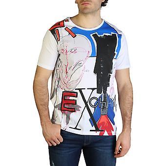 Armani exchange men's t-shirts- 6zztgf